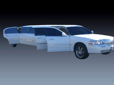 10 passenger Lincoln Town Car Limo