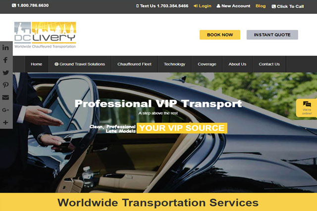 transportation responsive web design